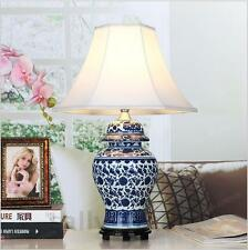 Chinese Style Porcelain Table Lamp  Ceramic Decoration Table Lamps for Bedroom