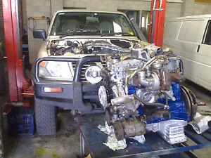 NISSAN PATROL  4 CYLINDER Diesel Engine