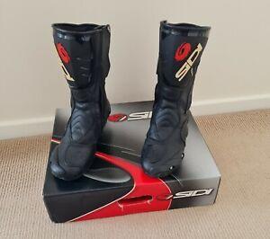 Sidi Cobra Air motorcycle boots size 9