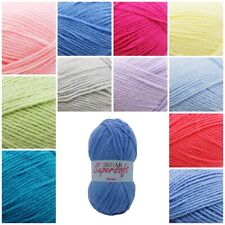 Sirdar Supersoft Aran Washable Knitting Crochet Wool Yarn 100g