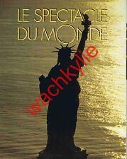 Le spectacle du monde n°368 11/1992 Élections USA Ratzinger Renault Daudet Rouen