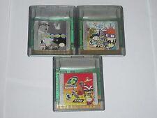 Nintendo Game Boy Color Lot Of 3 Games