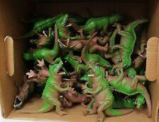 "New ListingNos Lot of 43 vintage vinyl rubber 6"" squeaky dinosaur Toys Hong Kong/ China 70s"