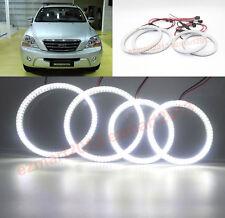 LED light For Kia Sorento 2007-2009 car headlight halo ring angle eye lamp DRL