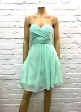 For The Elegant & Exquisite Beautiful Blue Ruched Bustier Dress UK 10/12