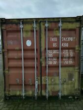 Seacontainer 40ft Lagercontainer