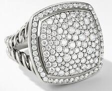 2e6eb122b40f4 diamond pave dome ring | eBay
