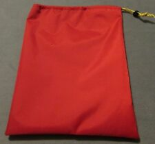 Red,Tent Awning PEG BAG FOR PEGS & GUYROPE - Caravan, Motorhome, Tent, Camping