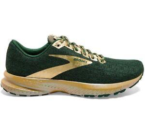 Brooks Launch 7 Lucky St Patrick's Green/Gold Women's Running Shoe [1203221B332]