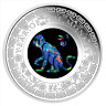 2016 Australian Opal Lunar Series - Year of the Monkey 1oz Silver Proof Coin