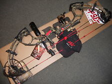 """PSE-RH-Bow-59/70# INERTIA COUNTRY Camo 24.5/30"""" Loaded With all GOOD STUFF"""