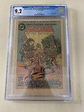 Masters of the Universe Promotional Supplement #nn CGC 9.2 White Pages