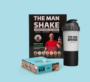 The Man Shake Get Started Pack FREE SHIPPING