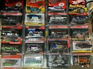 HOT WHEELS RLC REDLINE CLUB COLLECTIBLE INVESTMENT SET of 16 CARS -NICE, LOT #1