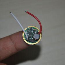 Cree T6 V5 L2 U2 U3 LED Single Mode 3.V-18V 2A Flashlight Driver Circuit Board
