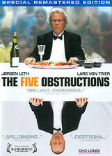 The Five Obstructions, , Very Good DVD, Lars Von Trier, Jorgen Leth