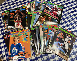 Sports Illustrated Vintage Lot 1979-1982 Various issues