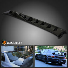 2003-2008 Lancer Evolution EVO 8 9 Jet Black Vortex Generator Shark Fin Spoiler