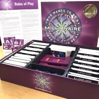 Who Want To Be A Millionaire 2nd Edition Board Game. 2001. Celador ITV Upstarts!