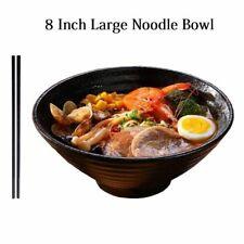 8 Inch Ceramic Ramen Bowl Japanese Instant Noodles Salads Large Creative Bowls