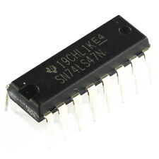 1PCS 74LS47 SN74LS47N IC BCD-7 SEG DECODER/DRVR 16-DIP NEW