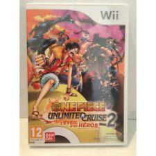 """One Piece Unlimited Cruise 2 """"L'éveil d'un héros"""" Nintendo Wii Pal"""