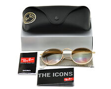 RayBan RB3447 Round Metal 001/51 Gold Frame/Gradient Lens Unisex Sunglasses 50mm