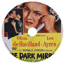 THE DARK MIRROR (1946) OLIVIA de HAVILLAND, LEW AYRES & MITCHELL R. Siodmak DVD