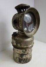 Antique Kerosene Bicycle Miners Search Light Lantern