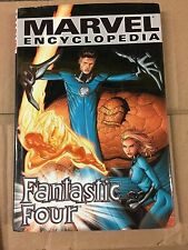 NEW UNREAD MARVEL ENCYCLOPEDIA  FANTASTIC FOUR    HARDCOVER