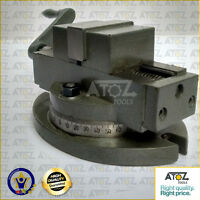 "Atoz Self Centering Milling Machine Vice with Swivel Base 2"" (50 mm) Top Quality"
