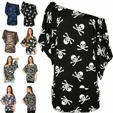 Viscose Short Sleeve Floral Plus Size T-Shirts for Women