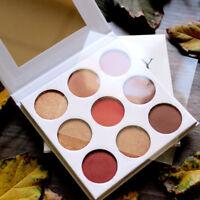Diamond Glitter Eye Shadow Make Up Palette 9 Colors Set Professional Makeup
