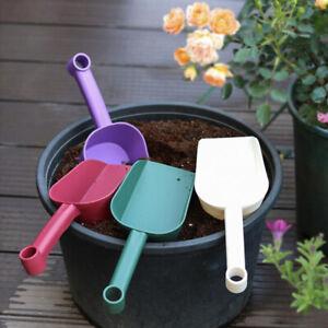 Plastic Loose Soil Spade Plant Shovels Flowers Vegetable Planting Gardening Tool