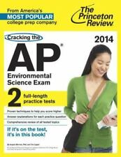 College Test Preparation: Cracking the AP Environmental Science Exam, 2014...