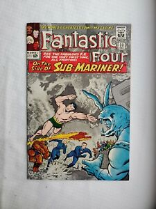Fantastic Four #33 Beautiful High Grade 1st Attuma 9.0 or higher