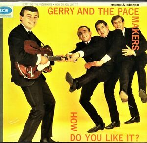 GERRY & THE PACEMAKERS HOW DO YOU LIKE IT? UK IMPORT DIGIPAK CD MONO & STEREO
