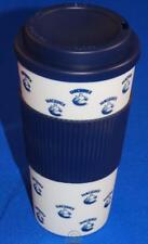 NHL Vancouver Canucks 16 Oz Plastic Tumbler Travel Cup Hot/Cold Coffee Mug Lid