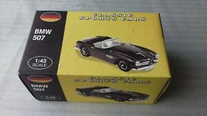 CLASSIC SPORTS CARS BMW 507 FROM ATLAS EDITION 1/43 SCALE    free post