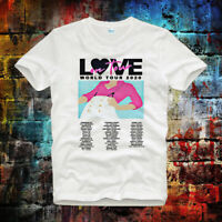 Love On Tour World Tour 2020 Graphic Harry Styles Tee Top Unisex T Shirt B674