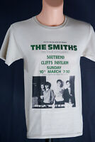 The Smiths Morrissey Concert T Shirt 1985 Southend Cliff New Vintage Retro Style