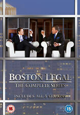 BOSTON LEGAL SEASONS 1-5 BOXSET - DVD - REGION 2 UK