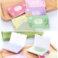 Oil Control Paper Oil-Absorbing Blotting Facial Face Cleaning Makeup Sheets Set