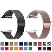 For Apple Watch Series 5 4 3 2 1 Milanese Stainless Steel iWatch Band Loop Strap