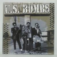 U.S. BOMBS - BACK AT THE LAUNDROMAT LP 2001 US ORIG HELLCAT RANCID SLACKERS PUNK