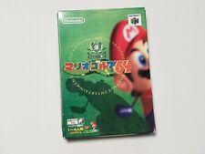 Nintendo 64 Mario Golf 64 boxed Japan N64 Games US seller