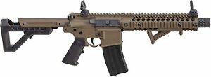 Crosman / Panther Arms DPMS SBR Full Automatic CO2 Target BB Air Rifle DSBRFDE