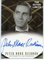 Outer Limits Premiere Autograph Card A16 Peter Mark Richman as Ian Frazier