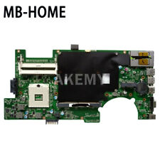 For Asus G73Sw Laptop Motherboard Rev 2.0 with 4 Memory Slots mainboard 2D Usa