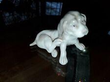 Vintage Scratching Dog Figurine